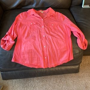 Old Navy Pink Button Down